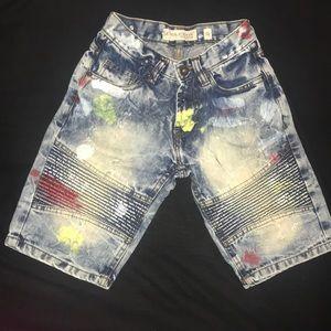 Cool Paint Splash Designed Shorts